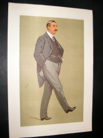 Vanity Fair Print 1912 Sir Arthur Griffith-Boscawen